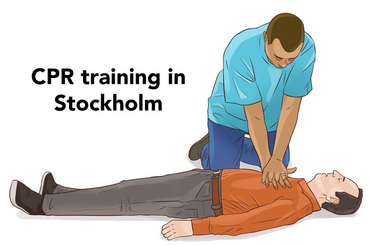 CPR training in Stockholm
