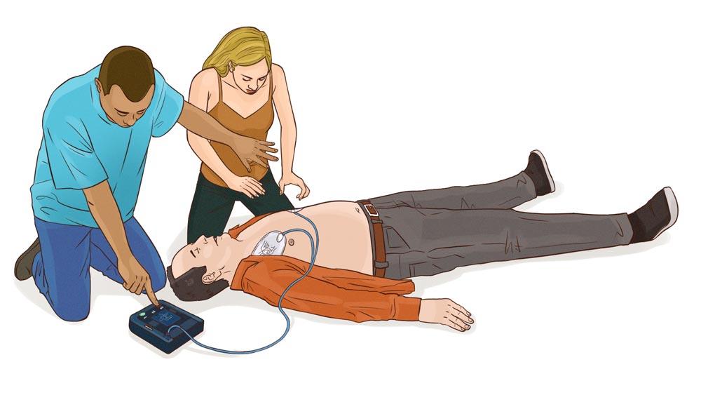 HLR med hjärtstartare, hur gör man HLR, HLR utbildning, HLR kurs