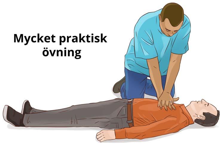 Hjärt lungräddning - HLR Experten - Illustration: Wasim Hentati tel. 070-2736853 - HLR Experten